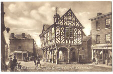 Leominster OLD TOWN HALL / GRANGE COURT Herefordshire OLD FRITH POSTCARD