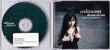 Andrea Corr (Corrs) - Shame On You - Scarce 1 track radio edit promo CD (2)