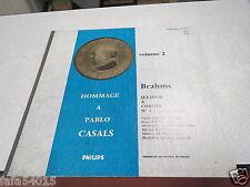 33 TOURS HOMMAGE A PABLO CASALS BRAHMS *