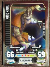 Force Attax Clone Wars 3 (2012, rot), Pong Krell (199), Star-Karten