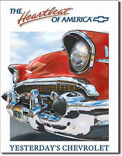CHEVY Metal Sign Chevrolet Garage Tin Sign Vintage Metal Sign Retro Tin Sign 820