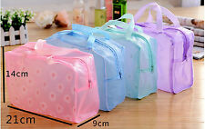 Portable Durable Makeup Bath Cosmetic Toiletry Travel Wash Bag Organizer Random