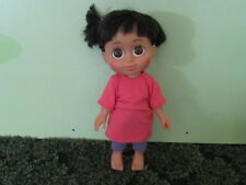 "DISNEY MONSTERS INC. BABBLIN' BOO TALKING DOLL 12""  VGC ~ Talks, Giggles & Sings"