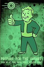 "Fallout Prepare for the future Game Magnet (2"" x 3"") Refrigerator MAGNET (GB)"