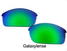 Galaxis Ersatzgläser Für Oakley Flak Jacket Smaragd Grün 100% UVAB