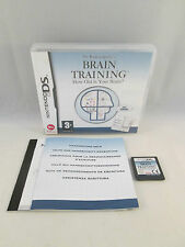 Nintendo DS DSi NDS / 3DS - Dr Kawashima's Brain Training How Old Is Your Brain?