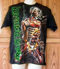 Iron Maiden Eddie Somewhere In Time Black T Shirt Hot Topic NWT Box 61