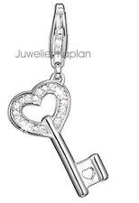 Esprit Damen Charm ES-Heart Key ESZZ90650A000 925 Silber neu