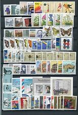 GERMANY 1991 MNH COMMEMORATIVES COMPLETE YEAR 79 Stamps + 4 SHEETS