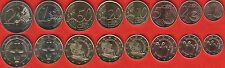 Cyprus euro full set (8 coins): 1 cent - 2 euro 2015 UNC