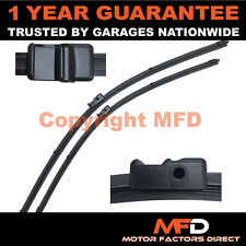 "FOR AUDI A3 MK2 SPORTBACK 2005- DIRECT FIT FRONT AERO WIPER BLADES PAIR 24"" 19"""