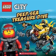 Lego City: Deep Sea Treasure Dive by Trey King and Inc. Staff Scholastic...