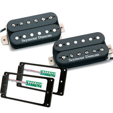 Seymour Duncan Hot Rodded Humbucker set black SH-2 SH-4 w/TS-2 Triple Shot set