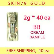 SKIN79 SKIN 79 Gold BB Cream Sample 80g (2g*40ea) - null fair light (20g x4)