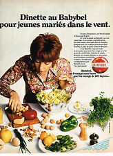 PUBLICITE ADVERTISING 014   1971   BABYBEL   fromage