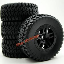 4pcs RC 1/10 short course tires 2.2/3.0 Hex 12mm wheels for Traxxas Pro-Line Car