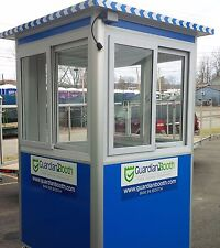 New 4'x4' Security Guard Shack / Ticket Booth / Parking Attendant Building House