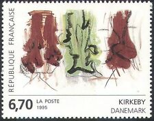 France 1995 Kirkeby/Abstract/Contemporary Art/Paintings/Artists 1v (n41971)