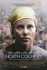 NORTH COUNTRY Movie POSTER 27x40 B Charlize Theron Elle Peterson Thomas Curtis