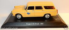 NOREV PEUGEOT 404 BREAK 1963 POSTES POSTE PTT 1/43 in blister box