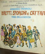 """ARMANDO TROVAJOLI ( SCHOLA CANTORUM ) 7"""" OST BRUTTI SPORCHI E CATTIVI   1976"""