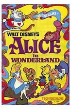 New Alice in Wonderland Walt Disney Classic Movie Art Poster Home Decor 173724