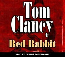Tom Clancy RED RABBIT a Jack Ryan novel 5 CDs 6 hrs read by Dennis Boutsikaris