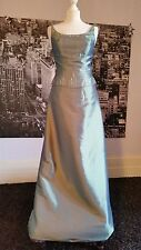 True Bride Sequinned Gown (Platinum) Prom, Ball, Bridesmaid,  Tag says £195
