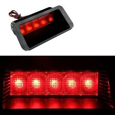 Universal Red 5SMD LED 12V Car Third 3RD Brake Stop Tail Light Rear Window Lamp
