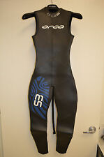 Orca S3 Sleeveless Men's Triathlon Wetsuit-Size 4- Also fits Women's S