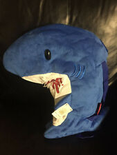 "GLOOMY BEAR Mori Chack Harapekozame Slitgill Slit Gill Shark backpack 18"" BLUE"