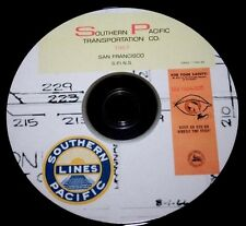 Southern Pacific RR 1967 San Francisco Area SPINS- Zones 1-20 PDF Pages on DVD