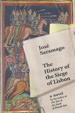 "JOSE SARAMAGO ""The History of the Siege of Lisbon"" SIGNED First Printing HC/DJ"