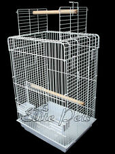 Bird Cage Senegal Open Top Small 830A White