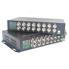 Multimode Fiber Up to 2Km Video fiber media converter with FC for CCTV security