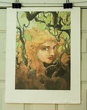 Charles Vess TITANIA Print 1989 Limited Signed