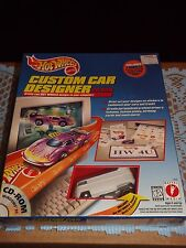 HOT WHEELS CUSTOM CAR DESIGNER w/ Rare Drag Bus only in this set