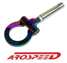 AROSPEED NEO CHROME SCREW IN TOW HOOK FOR 08-14 MITSUBISHI LANCER EVO