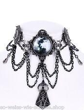Restyle Collier Mond Gothic Luna Choker Steampunk Halskette Necklace Moon Sailor