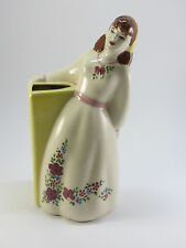 Vintage  Estate 1940's Max Weil Hand Painted California Pottery