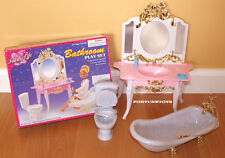 NEW FANCY LIFE DOLL HOUSE FURNITURE Bathroom PLAYSET (2316)