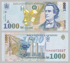 Rumänien / Romania 1000 Lei 1998 p106 unz