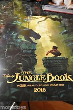 D23 EXPO 2015 EXCLUSIVE LIVE ACTION FILM JUNGLE BOOK MOVIE POSTER