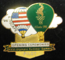"Atlanta 1996 Olympic Pin - Opening Ceremonies ""Pilot"" Airscape"