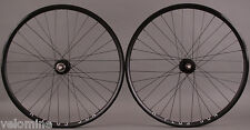 H + Plus Son Archetype Black Rims Phil Wood Track hubs fixed gear bike Wheelset