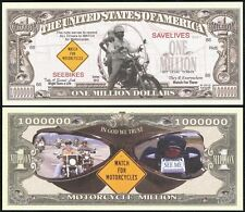WATCH FOR MOTORCYCLES SAVE LIVES MILLION DOLLAR BILL - Lot of 10 BILLS