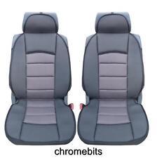 UNIVERSAL PREMIUM GREY COMFORT PADDED SEAT COVERS CAR VAN BUS TAXI MOTORHOME