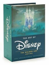 Art of Disney : The Golden Age, (1937-1961) (2014, Postcard Book or Pack)