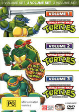 Teenage Mutant Ninja Turtles: Volumes 1 - 3  - DVD - NEW Region 4