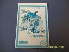 PETER PAN AND THE PIRATE NES 8 Bit Nintendo Vidpro Card